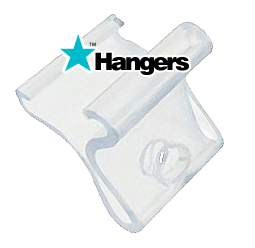 Suspended Ceiling Clips for hanging banners and posters