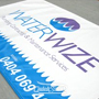 2m x 1500mm Dura Ripstop Banner Sign with waterproof UV ink, Ropes & Eyelets