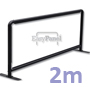 2 Metre Wind Barrier / Alfresco Cafe Barrier