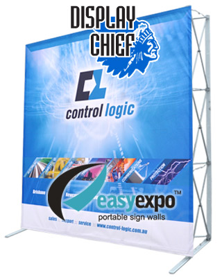 Easy Expo Banner Wall with Full Colour Banner