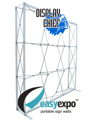 Easy Expo 'Display Chief' Pop-up Banner Wall
