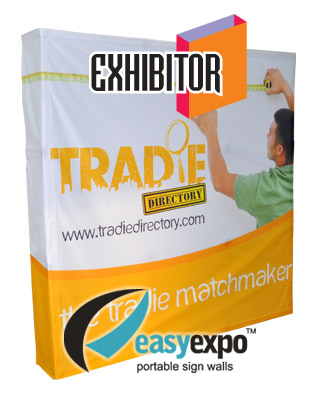 Easy Expo Banne Wall with Full Colour Banner