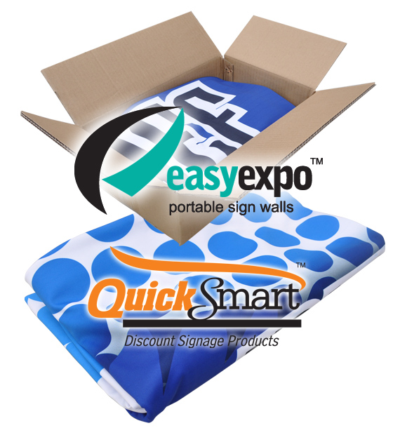 Fabric Banner Skin for Easy Expo Display 3x3 Unit