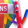 Inflatable Waves, Rooftop Balloons, Rooftop Balloon Banners and Accessories