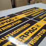 500mm x 250mm Colorbond Panel Sign