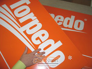 900mm x 600mm Corflute Panel Sign with Full Colour Artwork