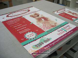 1500mm x 600mm Size Large Corflute