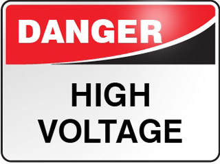 Danger Signage - High Voltage