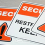 Safety Signs - various substrates mandatory and suggestive safety signs